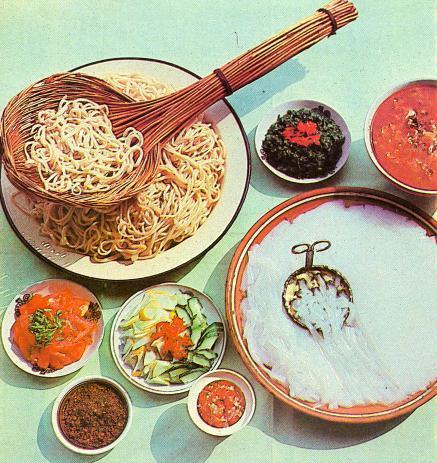 Приготовить гнёзда из макарон с фаршем на сковороде