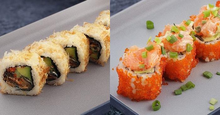 Нет неправильного способа съесть суши